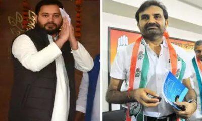 कांग्रेस की झोली रह गई खाली, राज्यसभा भेजने के लिए RJD ने अपने प्रत्याशियों को दे हरी झंडी