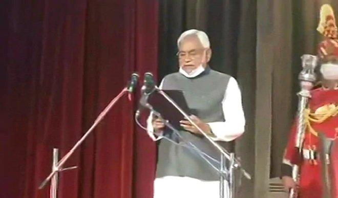 20 साल में सातवीं बार नीतीश कुमार फिर बने बिहार के मुख्यमंत्री