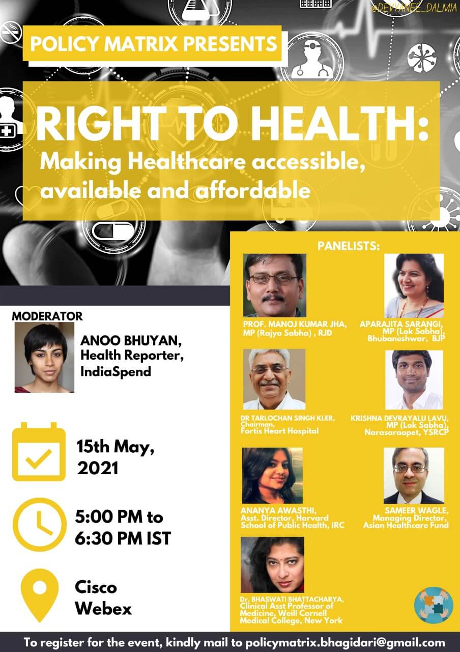 Policymakers, health experts deliberate on making healthcare accessible, available and affordable